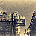 Parking In Sepia by Alex AG