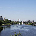 Parliament And Ottawa River  by Christiane Schulze Art And Photography