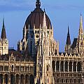 Parliament Buildings On River Danube by Axiom Photographic