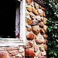 Part Of Old Barn by Kim Pettingill Sundeen