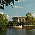 Parthenon At Nashville Tennessee 1 by Douglas Barnett