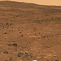 Partial Seminole Panorama Of Mars by Stocktrek Images