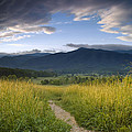 Parting Clouds At The Smokies by Andrew Soundarajan