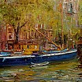 Party Boat Amsterdam by R W Goetting