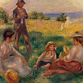 Party In The Country At Berneval by Pierre Auguste Renoir