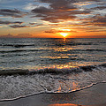 Pass-a-grille Beach Sunset by Rob Fowler