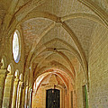 Passageway In A Monastery  by Dave Mills