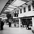 passenger concourse of Glasgow Buchanan street bus station Scotland UK by Joe Fox