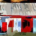 Patchwork Barn by Burney Lieberman