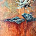 Patina Lotus by Ashley Kujan