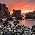 Patrick's Point Sunset by Greg Nyquist