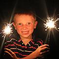 Patriotic Boy by Kelly Hazel