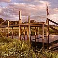 Patriotic Dock by Debra and Dave Vanderlaan