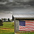 Patriotic Shed by Kathy Jennings