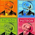 Patron Marque Deposee Cigar Label by Dwayne  Graham
