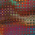 Pattern Study I Reflections by Richard Ortolano