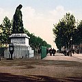 Paul Riquet Statue And The Allees In Beziers - France by International  Images