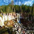 Paulina Falls At Newberry by Adam Jewell