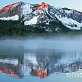Paulina Lake Reflections by Adam Jewell