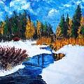 Peaceful Creek 2012 by Robert Gross