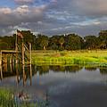 Peaceful Evening  by Debra and Dave Vanderlaan