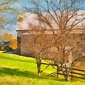Peaceful Farm In Autumn by Anne Kitzman