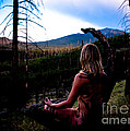 Peaceful Meditation - Nude by Scott Sawyer