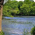 Peaceful River by Wanda J King