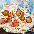 Peaches And Pears by Elena Irving