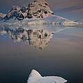 Peak On Wiencke Island Antarctic by Colin Monteath