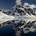 Peaks Along  Neumayer Channel by Colin Monteath