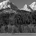 Peaks Near Schwangau In The Bavarian Alps by Greg Matchick