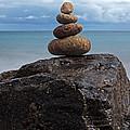Pebble Sculpture by Richard Thomas