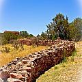 Pecos Pueblo Wall by Bill Barber