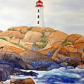 Peggy's Cove by Laurel Best