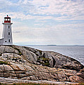 Peggy's Cove Lighthouse by Kristin Elmquist