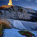 Peggys Cove Lighthouse Nova Scotia by Dave Mills