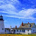 Pemaquid Point Lighthouse by Dominic Piperata