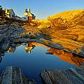 Pemaquid Point Reflection 2 by Jack Daulton