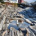 Pemaquid Point Reflections by George Oze