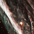 Pencil Nebula Supernova Remnant by Nasaesastscihubble Heritage Team
