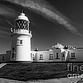 Pendeen Lighthouse Mono by Rob Hawkins