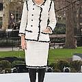 Penelope Cruz Wearing A Chanel Suit by Everett