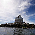 Penfield Reef Lighthouse by Stephanie McDowell