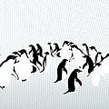 Penguins by Maya Shleifer