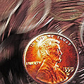 Pennies Abstract 2 by Steve Ohlsen