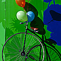 Penny Farthing And Balloons by Garry Gay