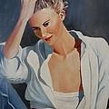 Pensive by Alan Pearson