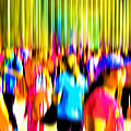 People Walking In The City-4 by Joel Vieira