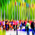 People Walking In The City-9 by Joel Vieira